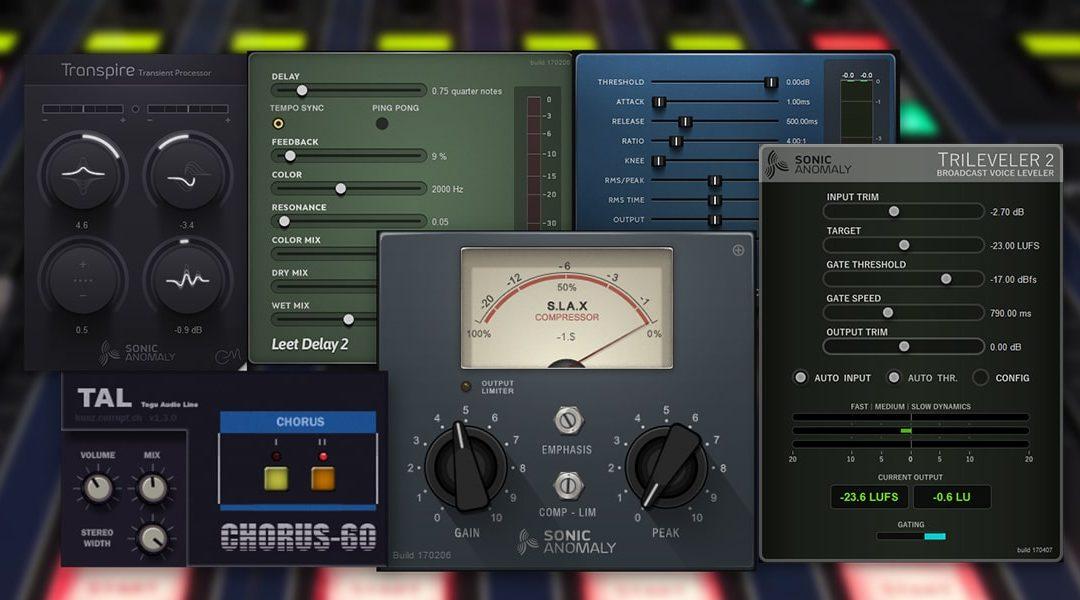 بلجنات مجانية للهندسة الصوتية