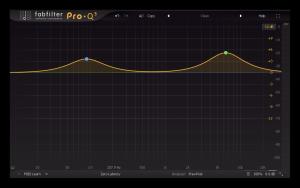 استخدام ايكولايزر فاب فلتر لرفع بعض الترددات