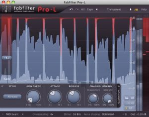 الليميتر أو محدد الصوت في الماسترينغ الصوتي