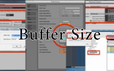 ما هو البفر سايز و ما أهميته في برامج الصوت ؟ Buffer Size