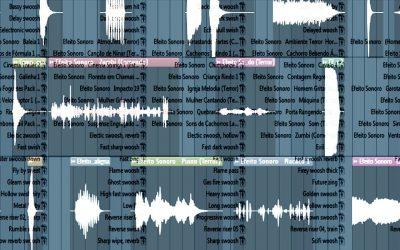مؤثرات صوتية للتوزيع و مونتاج الأفلام